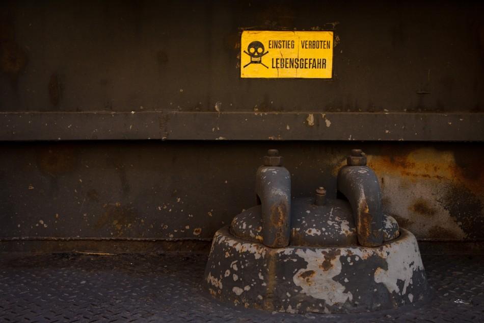 Danger near havy industry